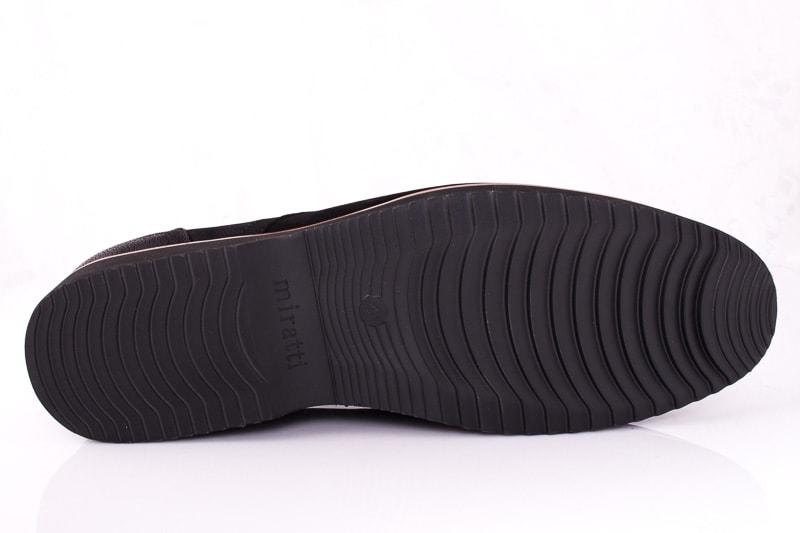 Мужские туфли M 1631-1-8 bln. фото 7