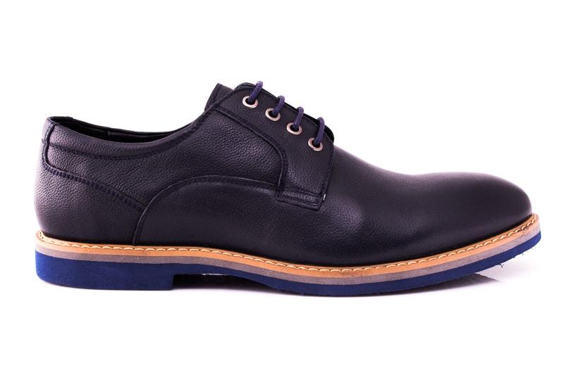 Мужские туфли M 16/726/121 blue фото 2