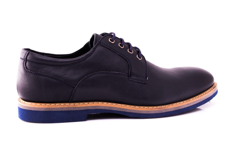 Мужские туфли M 16/726/121 blue фото 3
