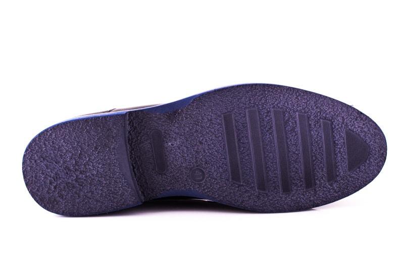 Мужские туфли M 16/726/121 blue фото 5