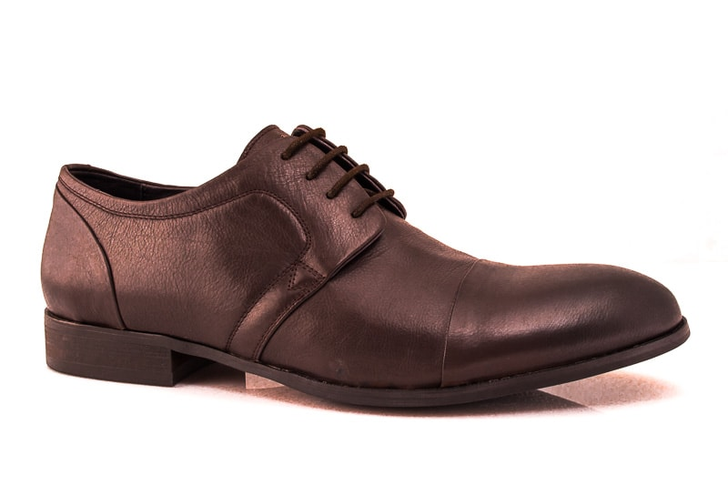 Мужские кожаные туфли T 12/106/385 br. фото 1