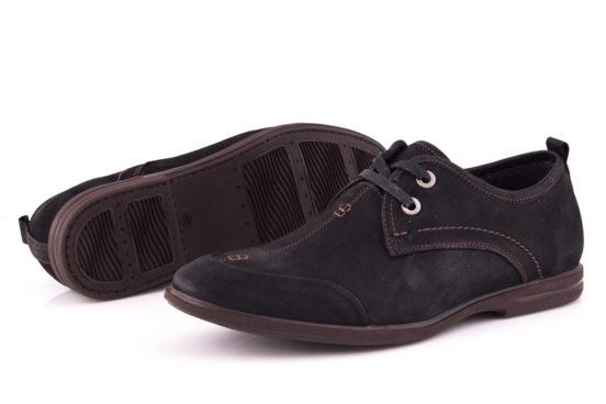 Мужские туфли из нубука Esente 3102-236 bln фото 7