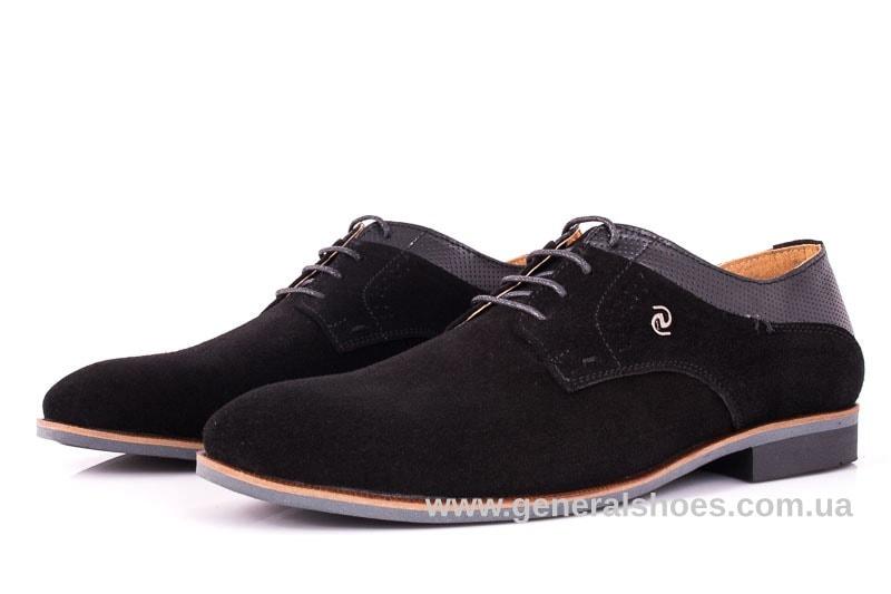 Мужские замшевые туфли Ed-Ge Boston blk.z. фото 7