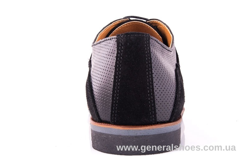 Мужские замшевые туфли Ed-Ge Boston blk.z. фото 9