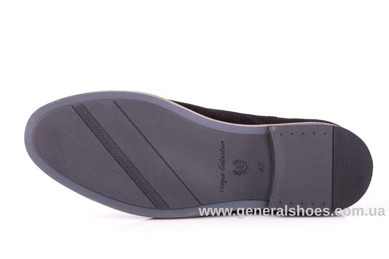 Мужские замшевые туфли Ed-Ge Boston blk.z. фото 10