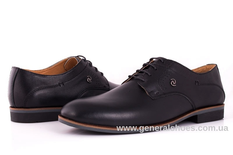 Мужские кожаные туфли Ed-Ge Boston blk. 8