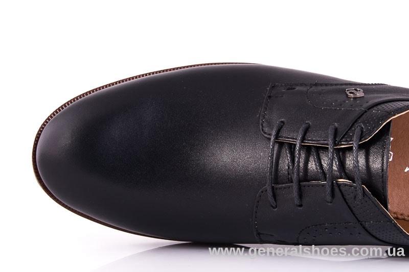 Мужские кожаные туфли Ed-Ge Boston blk. фото 5