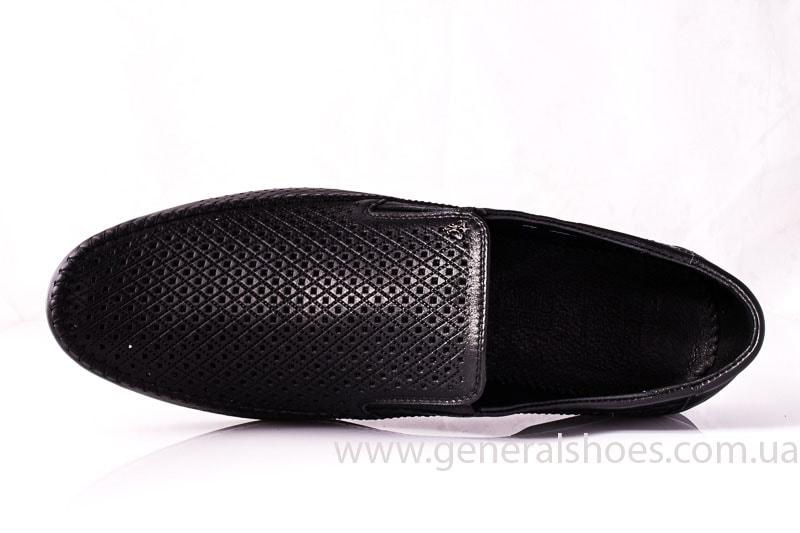 Мужские кожаные мокасины Falcon 20816 blk фото 4
