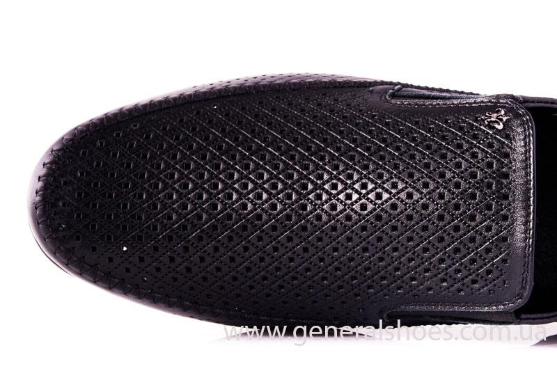 Мужские кожаные мокасины Falcon 20816 blk фото 5