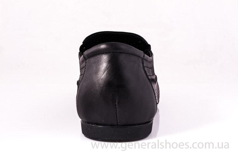 Мужские кожаные мокасины Falcon 20816 blk фото 8