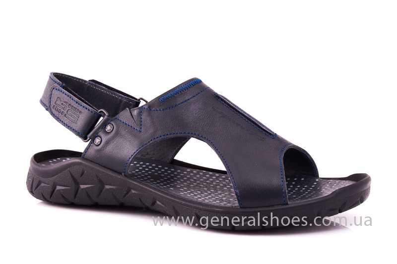 Мужские кожаные сандалии GS 31T blue фото 1