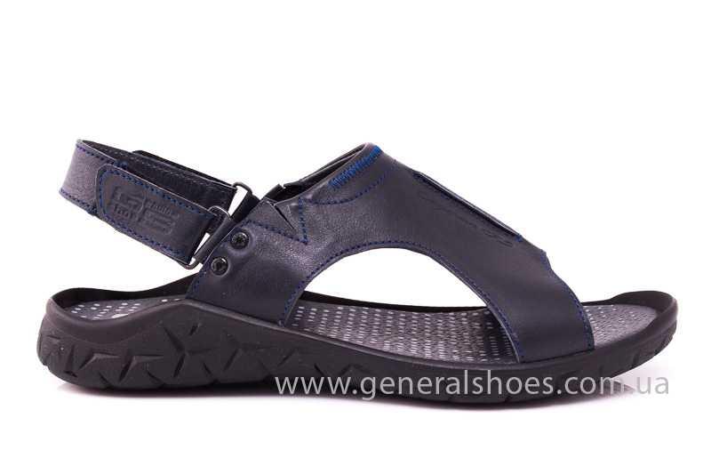 Мужские кожаные сандалии GS 31T blue фото 2