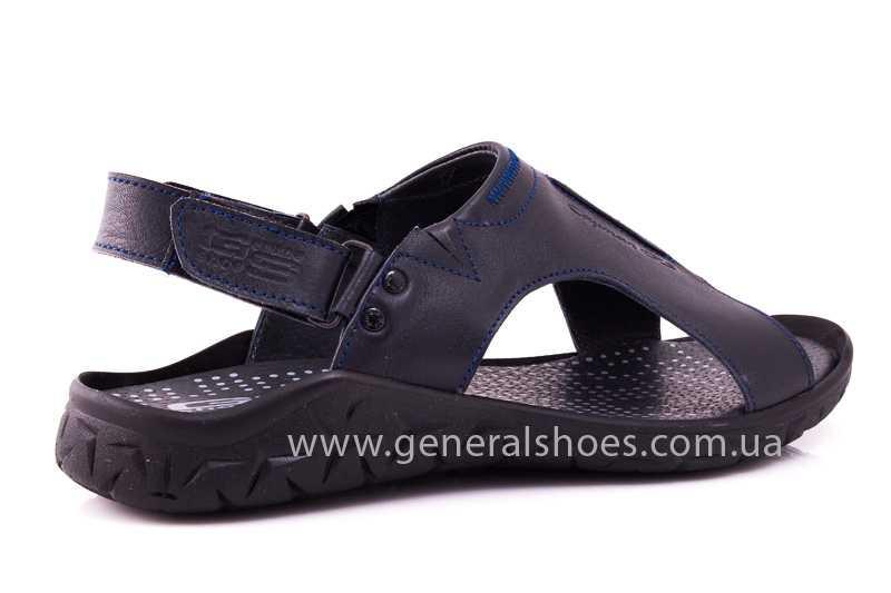 Мужские кожаные сандалии GS 31T blue фото 3