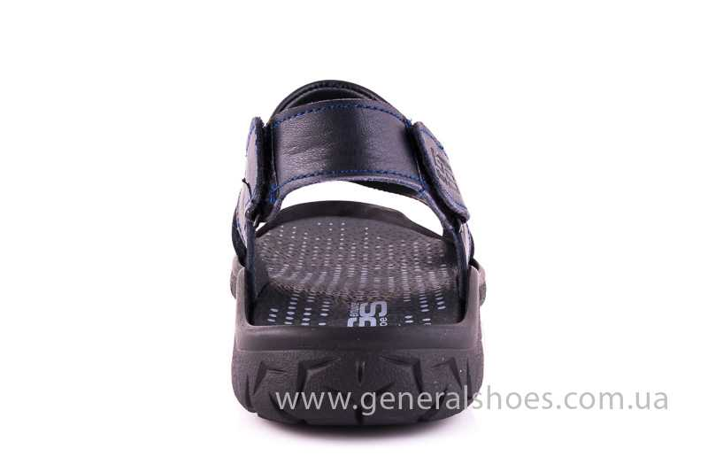 Мужские кожаные сандалии GS 31T blue фото 4