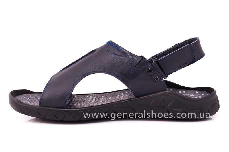 Мужские кожаные сандалии GS 31T blue фото 5