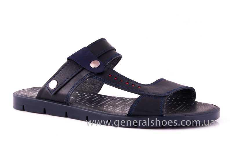 Мужские кожаные сандалии GS 38Т Linkor blue фото 1
