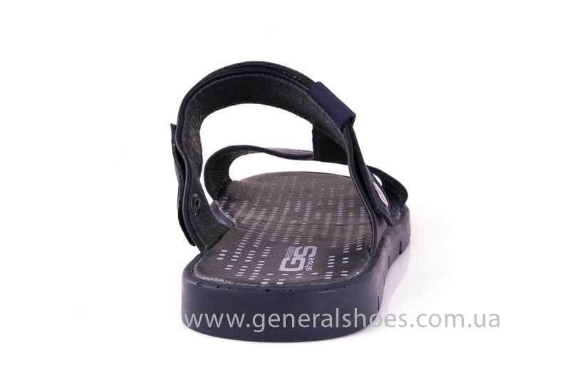 Мужские кожаные сандалии GS 38Т Linkor blue фото 5