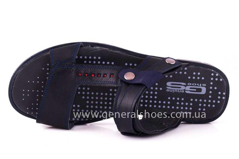Мужские кожаные сандалии GS 38Т Linkor blue фото 6