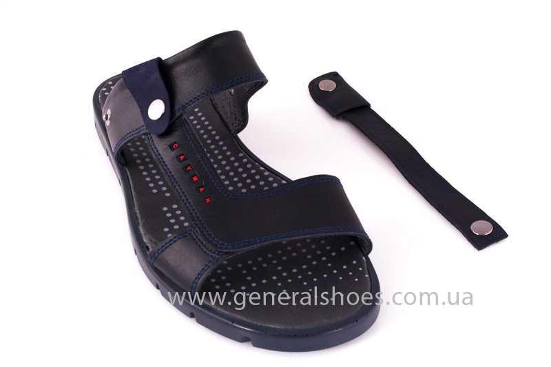 Мужские кожаные сандалии GS 38Т Linkor blue фото 7