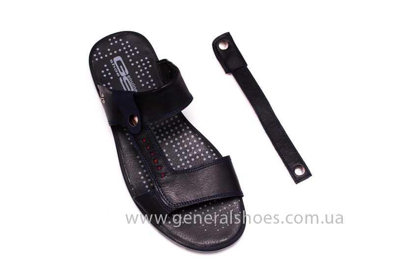 Мужские кожаные сандалии GS 38Т Linkor blue фото 8