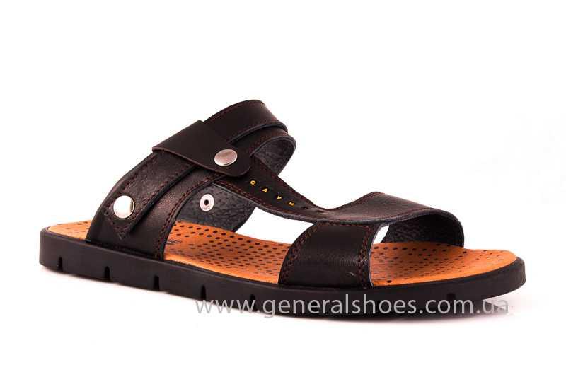 Мужские кожаные сандалии GS 38T Linkor br. фото 1