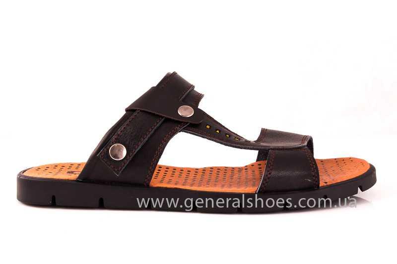 Мужские кожаные сандалии GS 38T Linkor br. фото 2