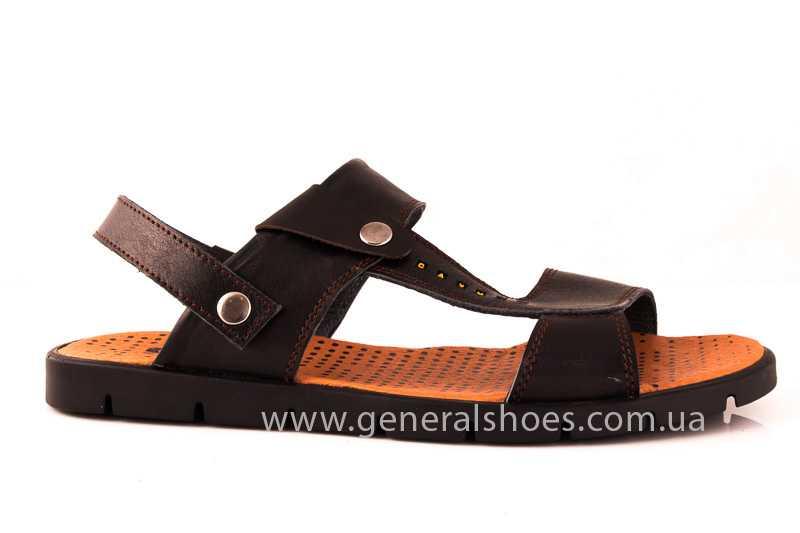 Мужские кожаные сандалии GS 38T Linkor br. фото 3