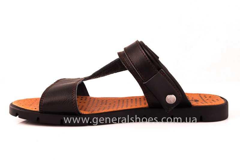 Мужские кожаные сандалии GS 38T Linkor br. фото 6