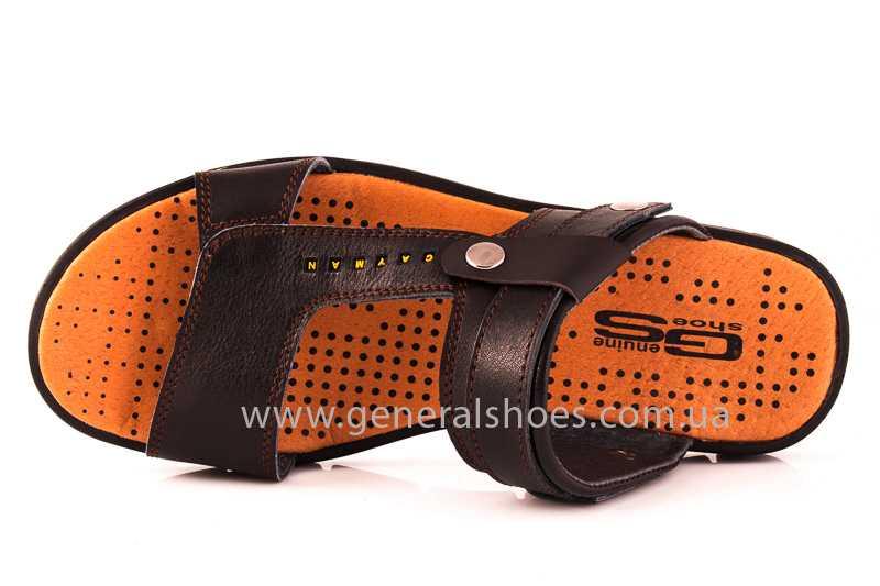 Мужские кожаные сандалии GS 38T Linkor br. фото 7