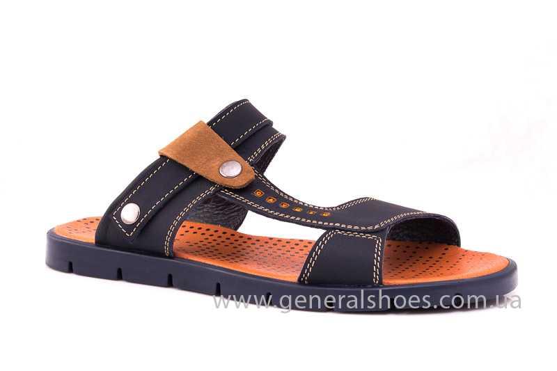 Мужские кожаные сандалии GS 38V Linkor blue фото 1