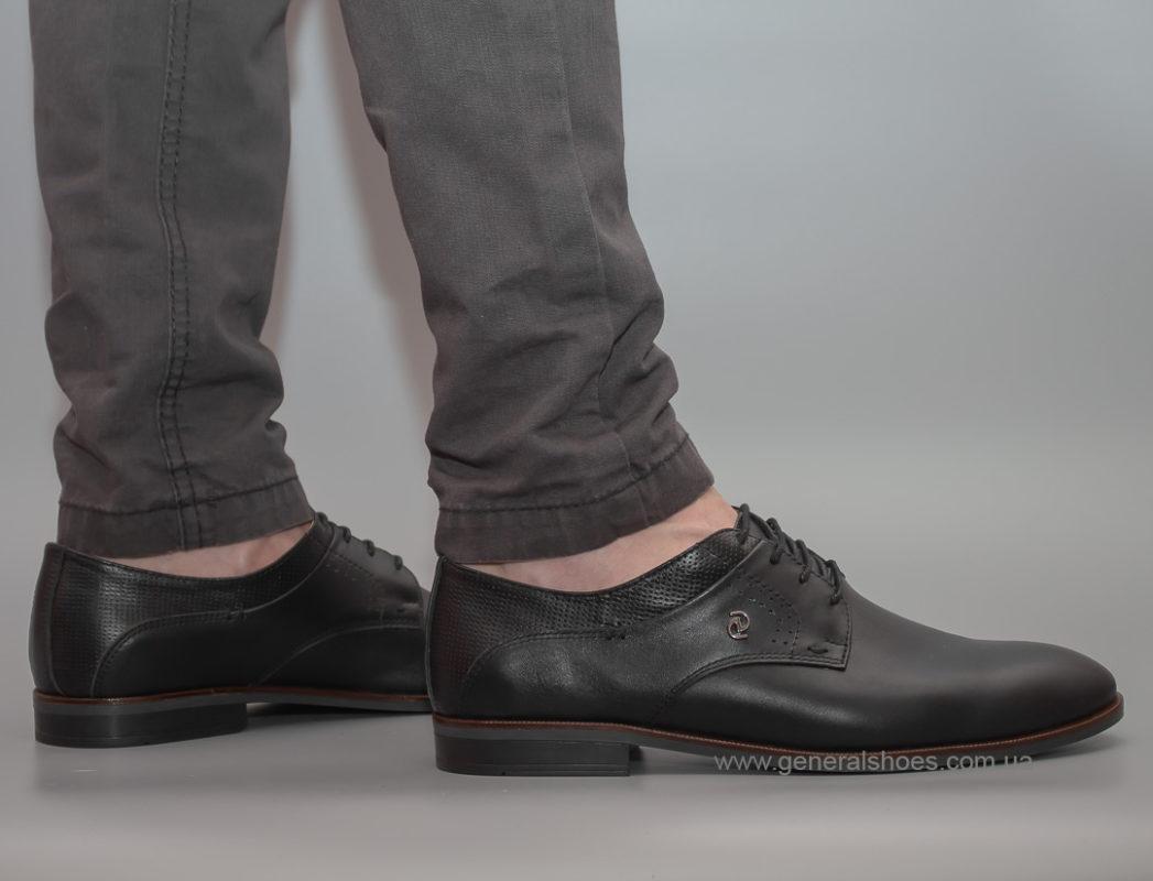 Мужские кожаные туфли Ed-Ge Boston blk