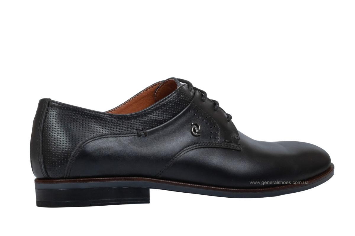 Мужские кожаные туфли Ed-Ge Boston blk фото 2