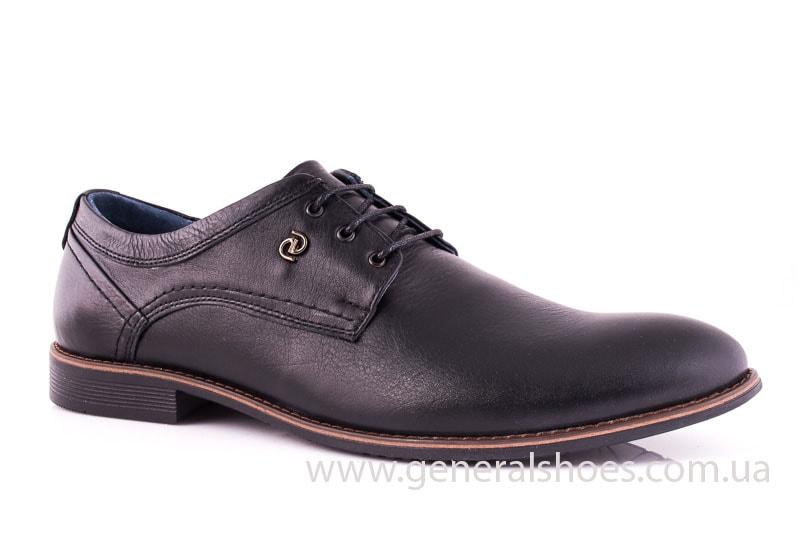 Мужские кожаные туфли Ed-Ge Direkt blk фото 1