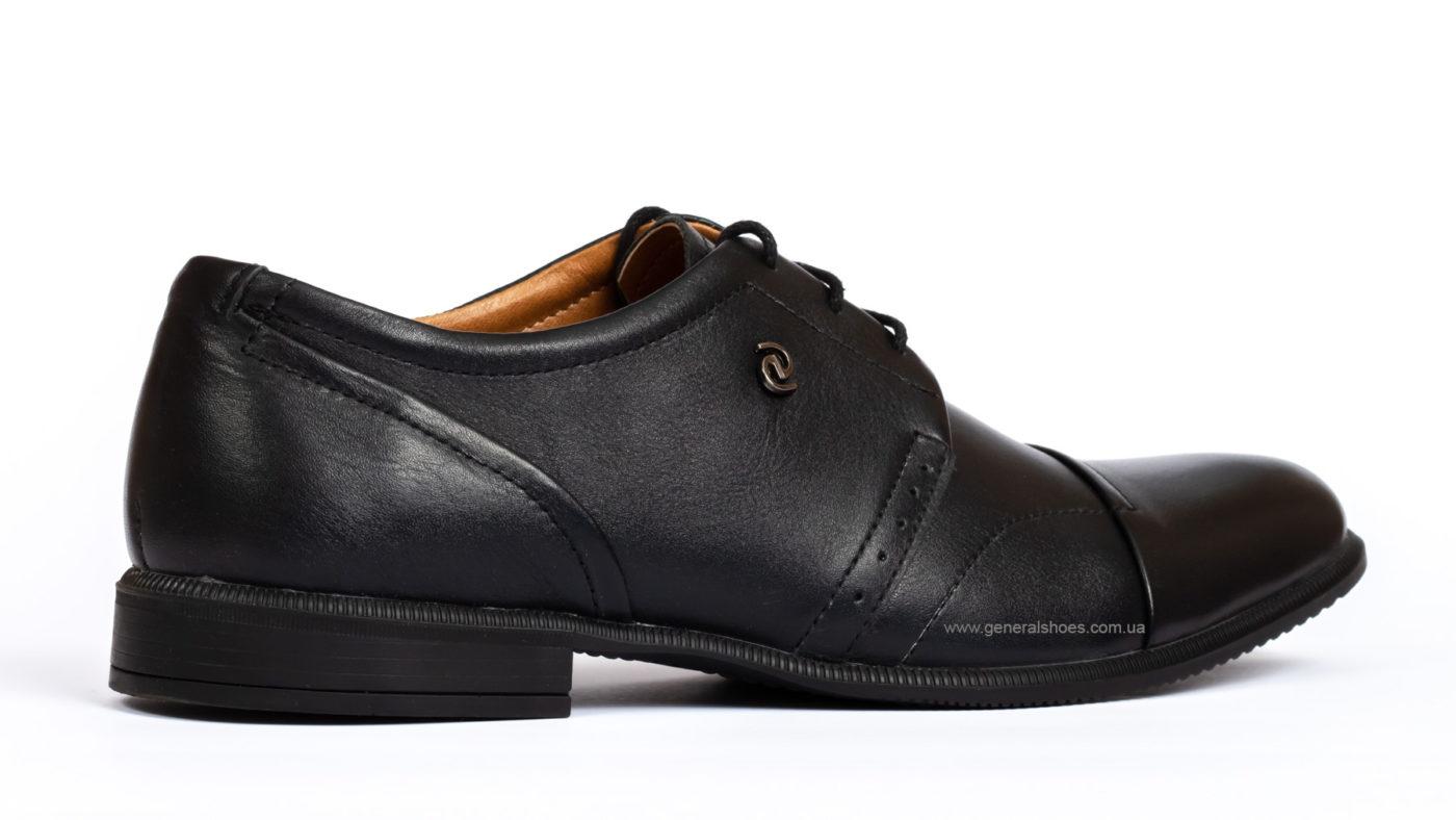 Мужские кожаные туфли Ed-Ge Parker 3 blk. фото 2