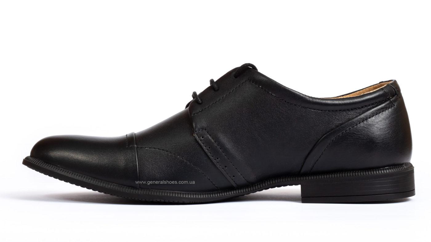 Мужские кожаные туфли Ed-Ge Parker 3 blk. фото 3