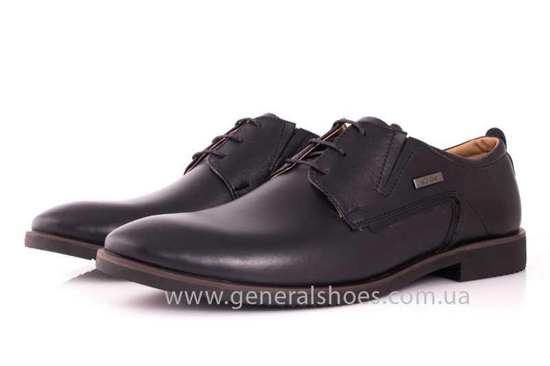 Мужские кожаные туфли Ed-Ge Titan blk. фото 8