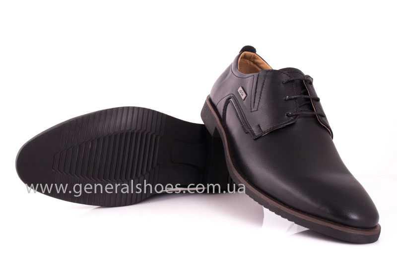 Мужские кожаные туфли Ed-Ge Titan blk. фото 10