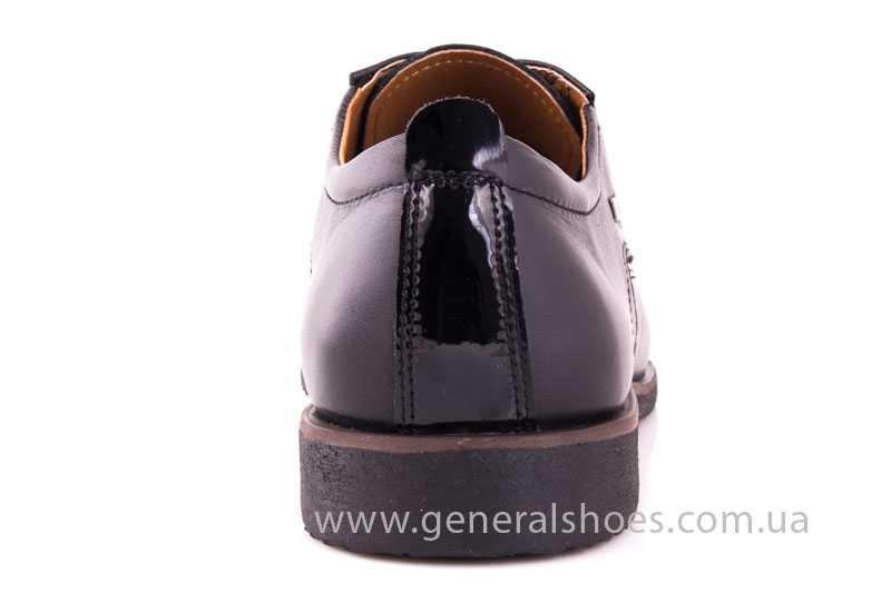 Мужские кожаные туфли Ed-Ge Titan blk. фото 4