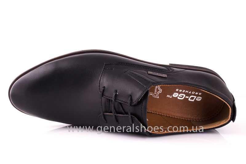 Мужские кожаные туфли Ed-Ge Titan blk. фото 6