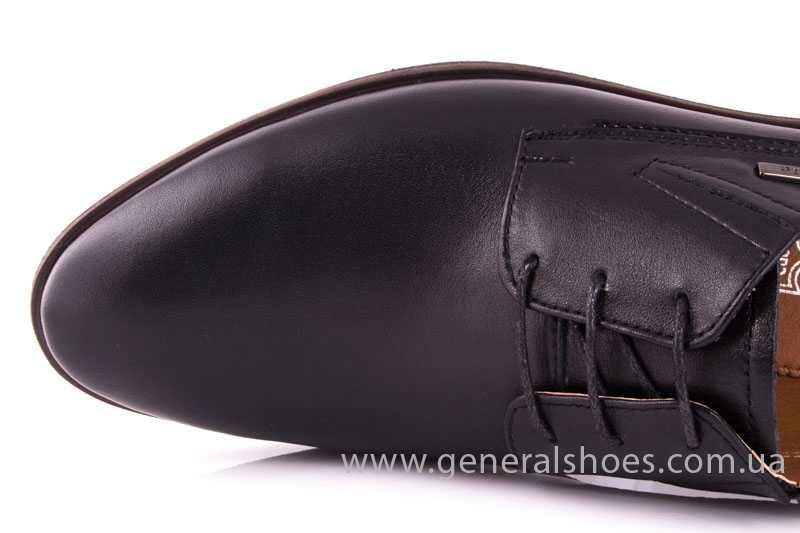 Мужские кожаные туфли Ed-Ge Titan blk. фото 7