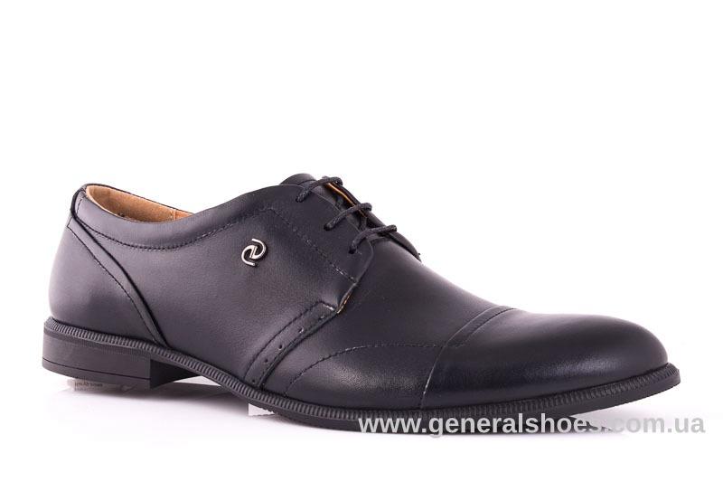 Мужские кожаные туфли Ed-Ge Parker 3 blk.