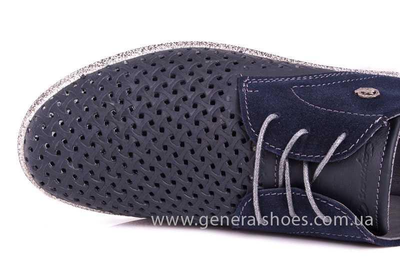 Мужские кожаные туфли GS E2 P Shanghai blue фото 10