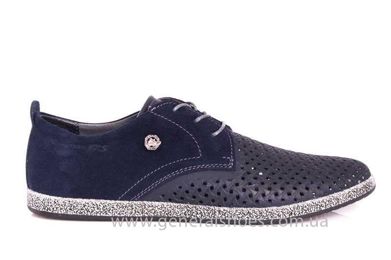 Мужские кожаные туфли GS E2 P Shanghai blue фото 2