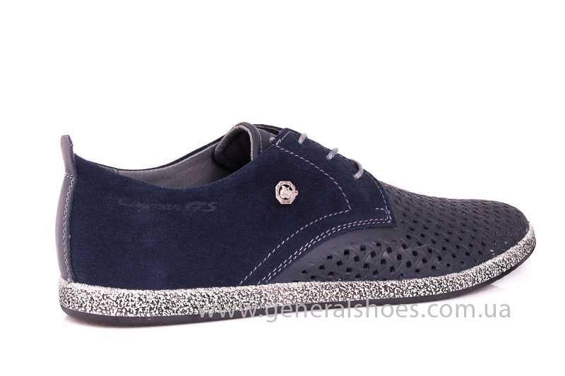 Мужские кожаные туфли GS E2 P Shanghai blue фото 3