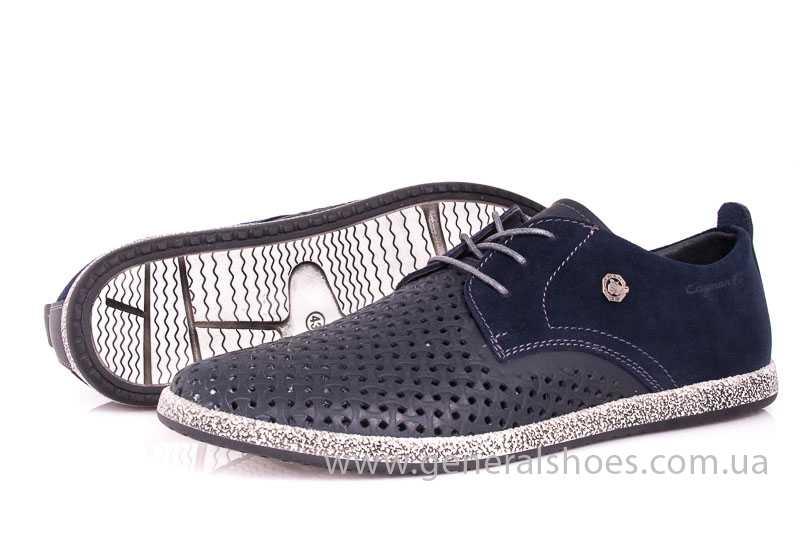 Мужские кожаные туфли GS E2 P Shanghai blue фото 8