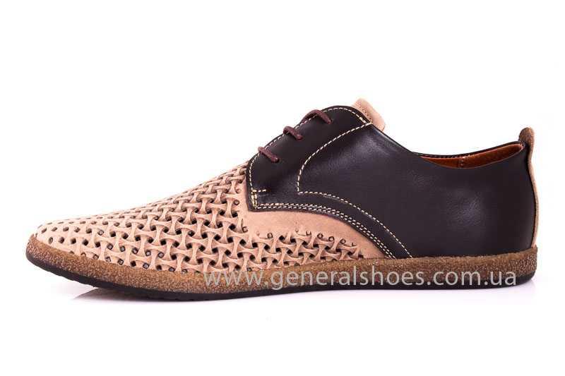 Мужские туфли из нубука GS E2 P Shanghai brb. фото 5