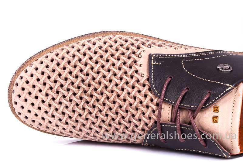 Мужские туфли из нубука GS E2 P Shanghai brb. фото 10