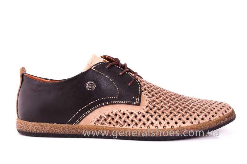 Мужские туфли из нубука GS E2 P Shanghai brb. фото 2