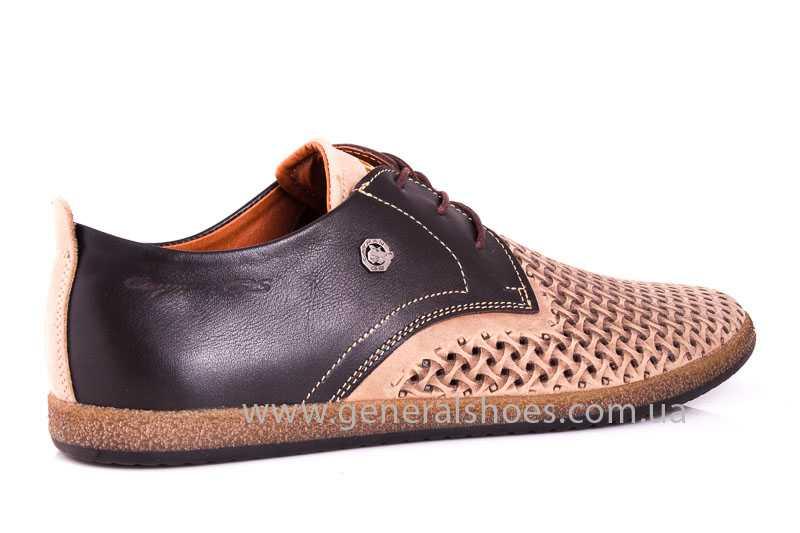 Мужские туфли из нубука GS E2 P Shanghai brb. фото 3