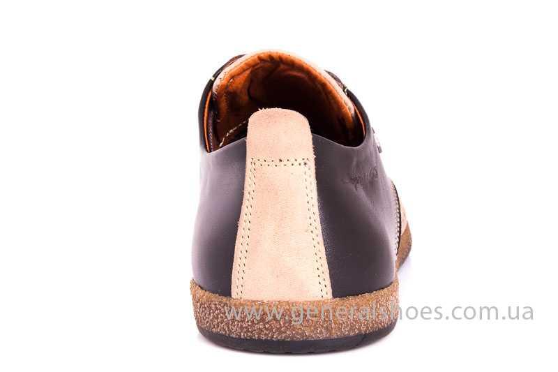 Мужские туфли из нубука GS E2 P Shanghai brb. фото 4
